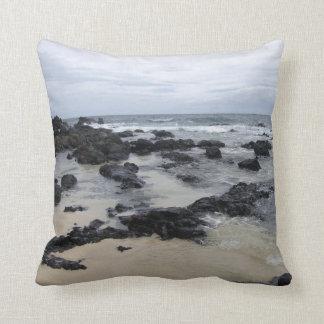 Lava Rock Beach Pillow