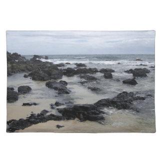 Lava Rock Beach Placemat