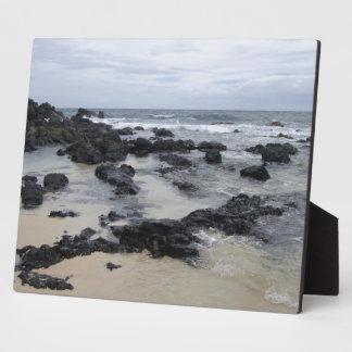 Lava Rock Beach Display Plaque
