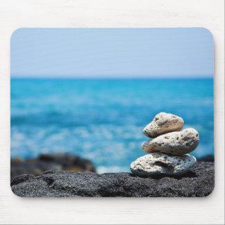 Lava Rock Coral Hawaii Ocean Tropical Beach Blank Mouse Pad
