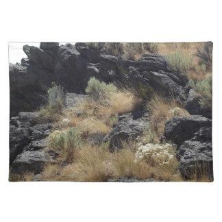 Lava Rock Place Mats