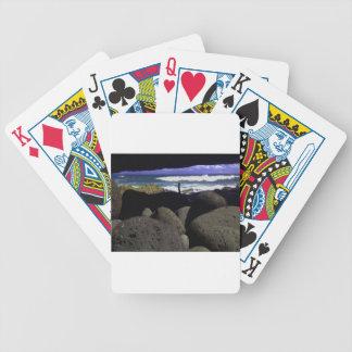 Lava Rocks And Hawaiian Ocean Card Decks