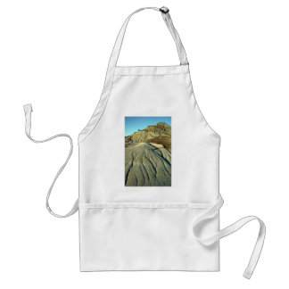 Lava Rocks In Death Valley Adult Apron
