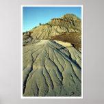 Lava Rocks In Death Valley Print
