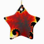 lava sea ceramic ornament