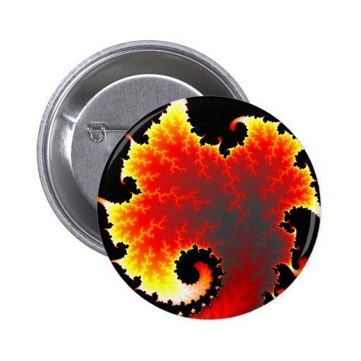 Lava Sea - Fractal Button