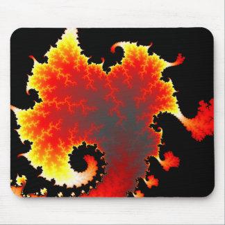 Lava Sea - Fractal Mousepad