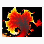 Lava Sea  - Fractal Postcard