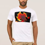 Lava Sea - Fractal T-shirt