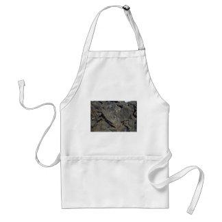 Lava shards adult apron
