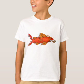 Lava shark cartoon shirt