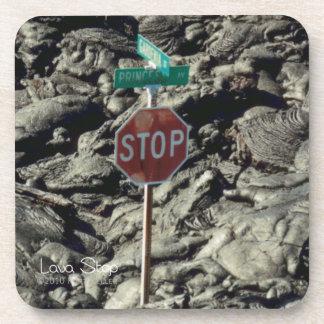 Lava Stop Photo Coasters