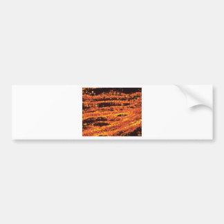 lava stripes speckle bumper sticker