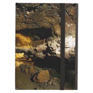 Lava tube cave case for iPad air