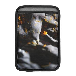 Lava tube cave detail iPad mini sleeve