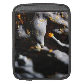 Lava tube cave detail iPad sleeve