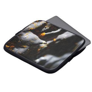 Lava tube cave detail laptop sleeve