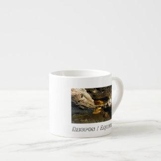 Lava tube cave espresso cup