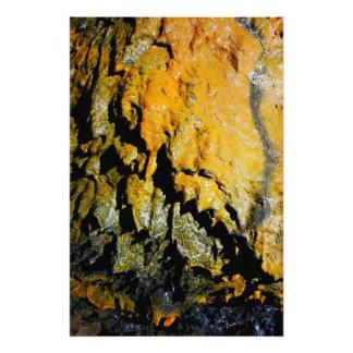 Lava tube cave photo