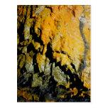 Lava tube cave postcard
