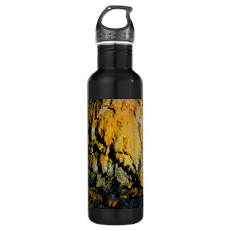 Lava tube cave stainless steel water bottle