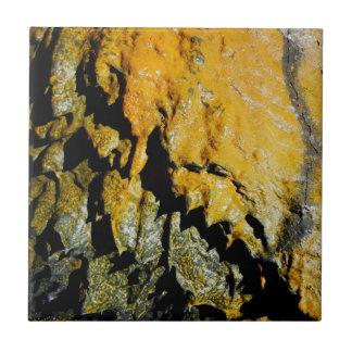 Lava tube cave small square tile