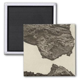 Lava, un Sevier más bajo, Utah Imán Cuadrado