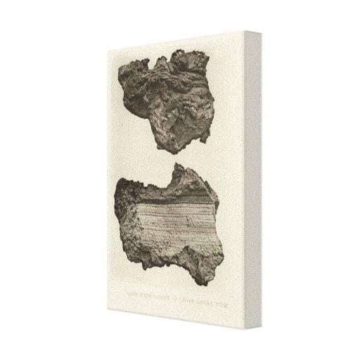 Lava, un Sevier más bajo, Utah Impresión En Tela