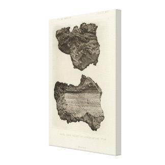 Lava, un Sevier más bajo, Utah Lona Envuelta Para Galerias