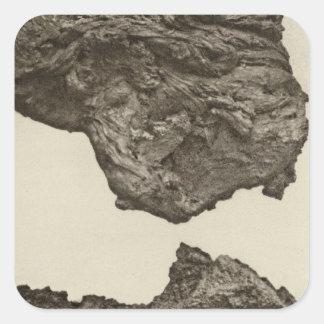Lava, un Sevier más bajo, Utah Pegatina Cuadrada