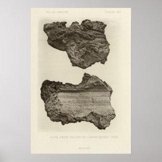 Lava, un Sevier más bajo, Utah Póster