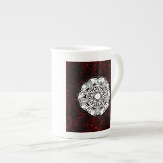 'Lava Wheel' Tea Cup