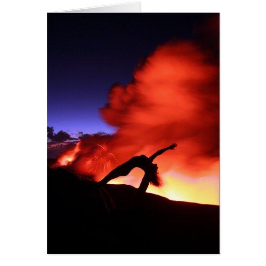 Lava Yoga Card