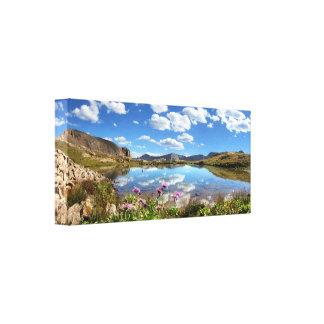 Lavabo de Columbine - desierto de Weminuche - Impresiones En Lona Estiradas
