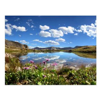 Lavabo de Columbine - desierto de Weminuche - Tarjeta Postal