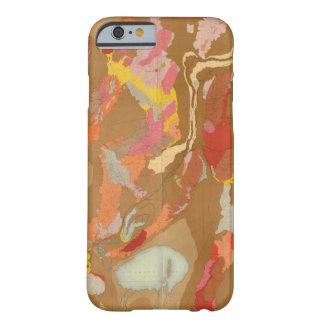 Lavabo de Nevada geológico Funda De iPhone 6 Barely There