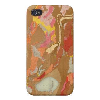 Lavabo de Nevada geológico iPhone 4/4S Carcasa