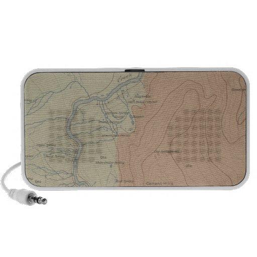 Lavabo del géiser del Shoshone iPod Altavoces