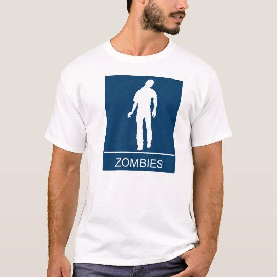 Lavabo del zombi playera
