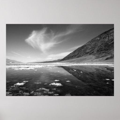 Lavabo en Death Valley Posters