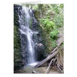 Lavabo grande, montañas de Santa Cruz Tarjeta De Felicitación