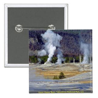 Lavabo superior del géiser, parque nacional de Yel Pin