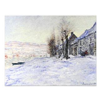 Lavacourt bajo invitaciones de la nieve comunicado personalizado