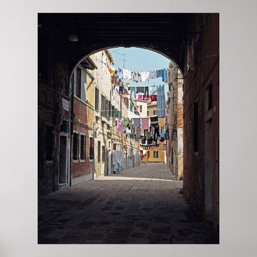 Lavadero de Venecia Póster