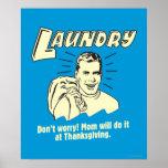 Lavadero: No se preocupe la acción de gracias de l Poster