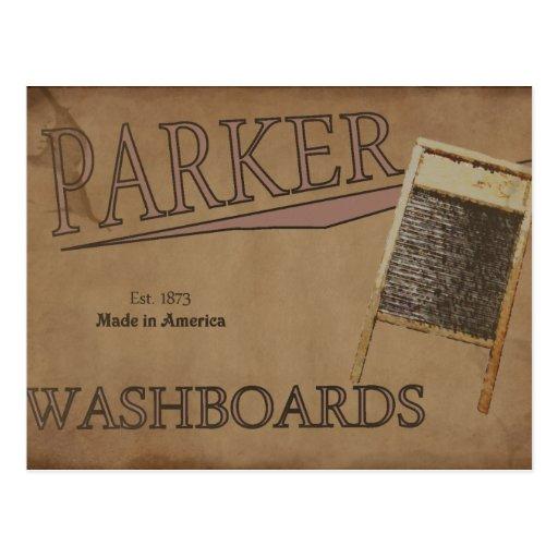 Lavaderos de Parker Postales