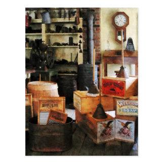 Lavaderos y jabón tarjetas postales
