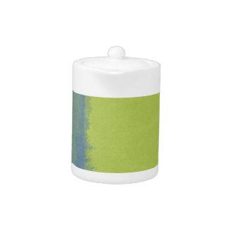 Lavado artístico de la acuarela: Barra azulverde