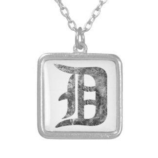 Lavado de Detroit D Pendientes Personalizados
