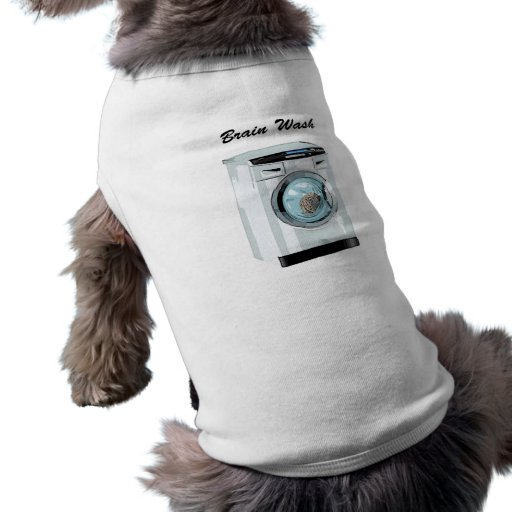 Lavado del cerebro camisetas mascota